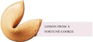 A Fortune Cookie that Could Change Your Life